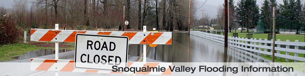 Snoqualmie Valley Flooding Information